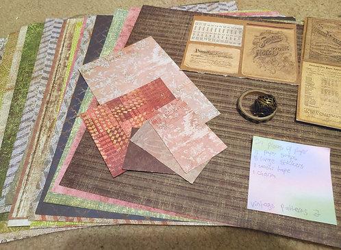 Crafting Grab Bag- Vintage Patterns