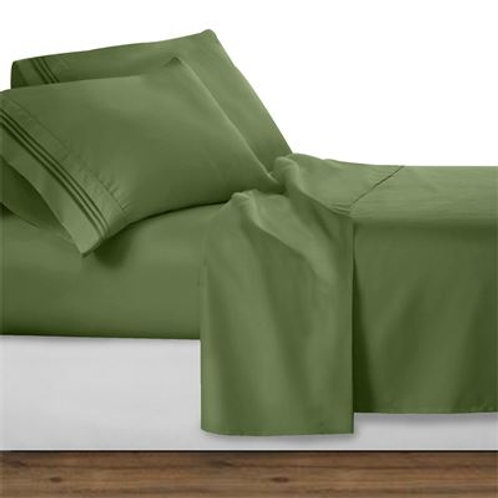 CALLA GREEN SHEET SET