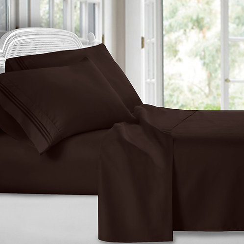-CHOCOLATE SHEET SET