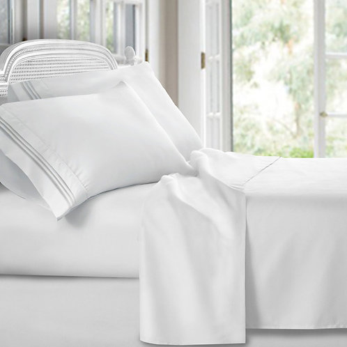 -WHITE SHEET SET