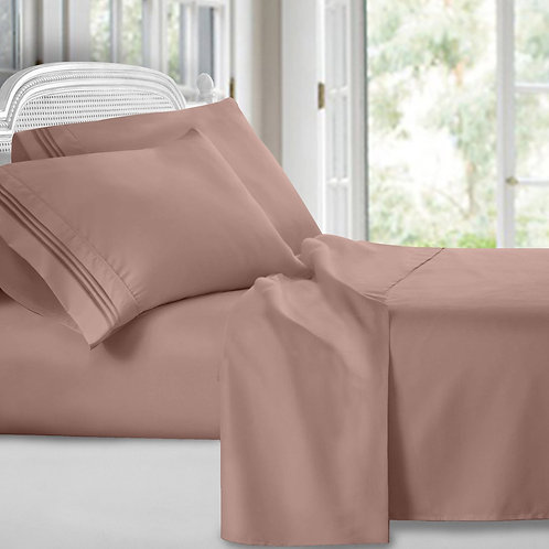 -TAUPE SHEET SET