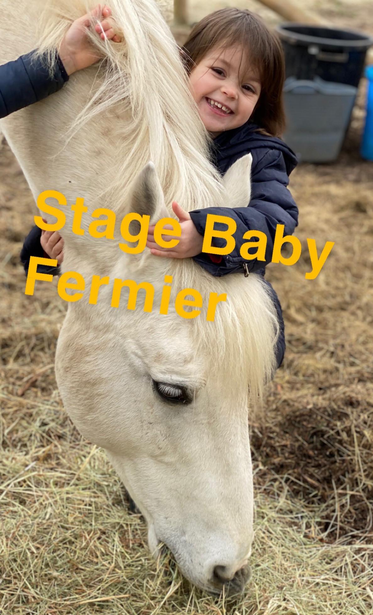 Stage Baby Fermier de 3 ans à 5 ans
