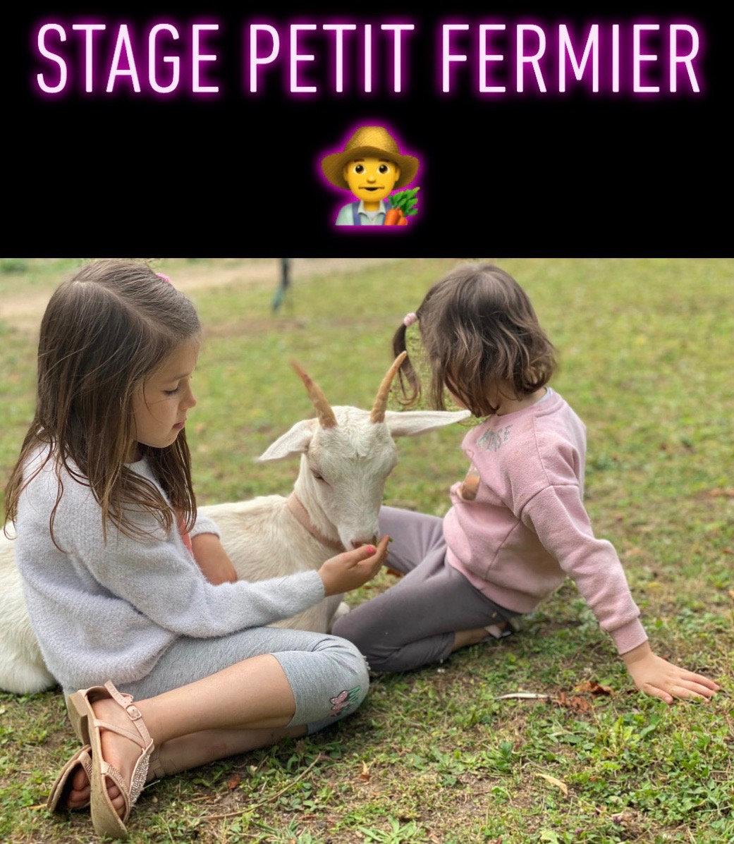 Stage Petit Fermier à partir de 6 ans