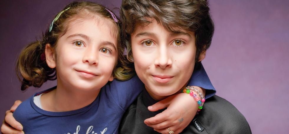 Ali Omer and Elif Siblings