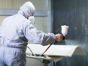 Spray Booth Cleaning