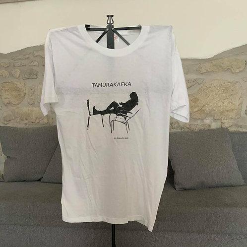 White T-shirt Tamurakafka