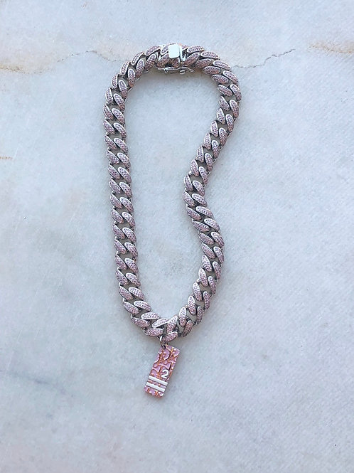 PINK DIOR CHOKER - REWORKED VINTAGE COLLECTION
