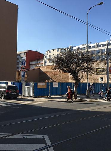 Komunardů 35, zahajení stavby