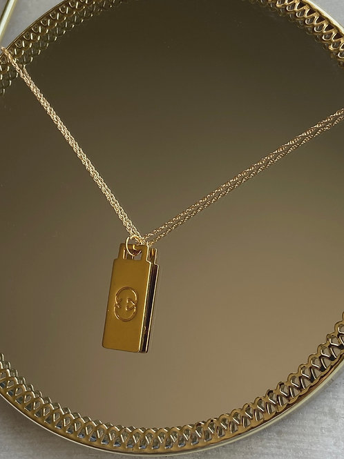 GUCCI TAG NECKLACE - REWORKED VINTAGE COLLECTION