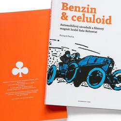 Kniha Benzin & celuloid