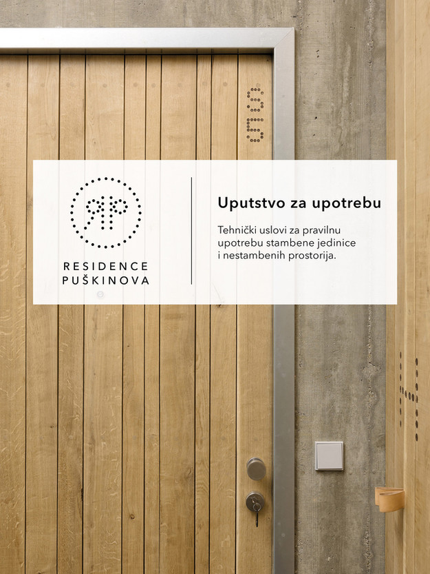 Rezidence Puškinova, manuál užití