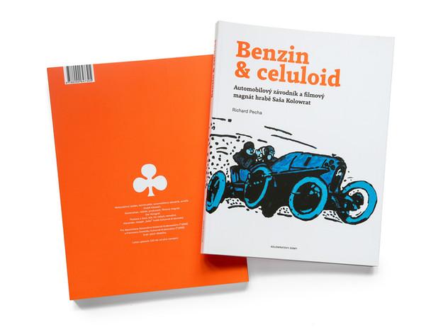 Autobiografická publikace Benzin & celuloid