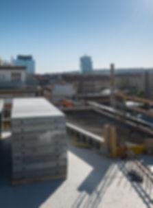 Komunardů 35, výhled 6. patro