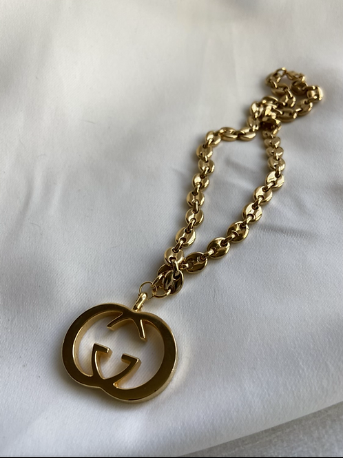 GUCCI LINK NECKLACE - REWORKED VINTAGE COLLECTION