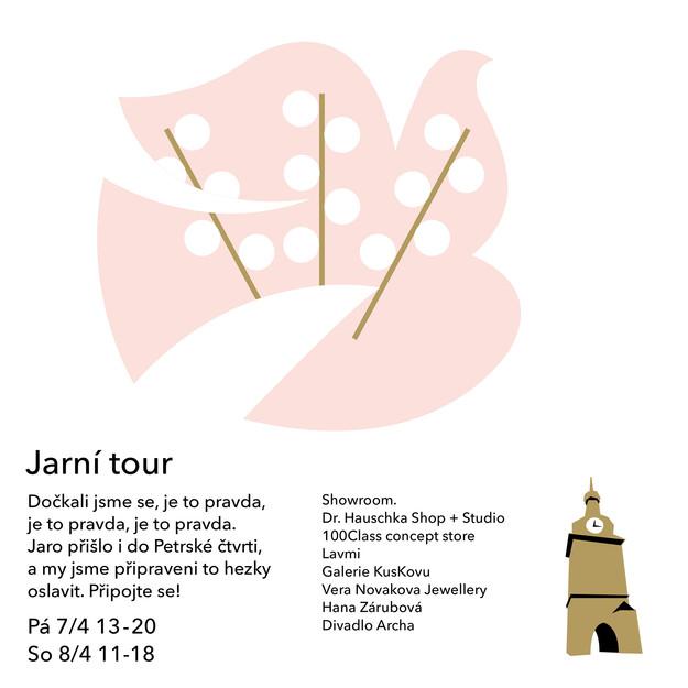 Jarní tour 2017 pozvánka