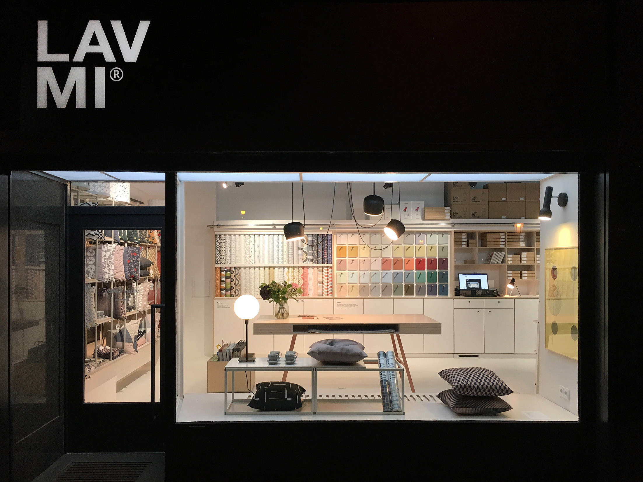 LAVMI Showroom