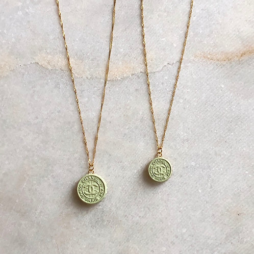 MINT CHANEL BOTTLECAP NECKLACE - REWORKED VINTAGE  COLLECTION