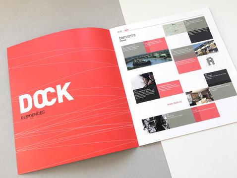 Brožura projektu DOCK