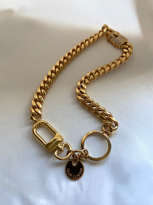 LV LOCK CHAIN - REWORKED VINTAGE COLLECTION