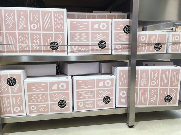 Krabičky na chlebíčky