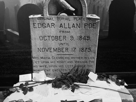 My Trip to the Edgar Allan Poe Museum!!