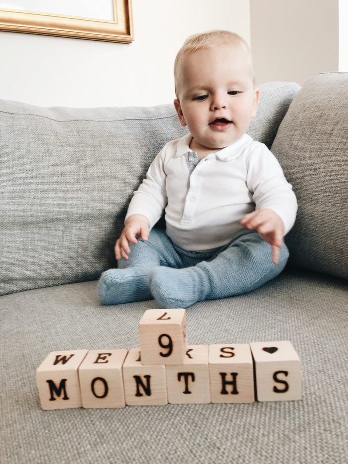 MONTHLY MAGNUS - 9 MONTHS (OUT AS LONG AS HE WAS IN!)