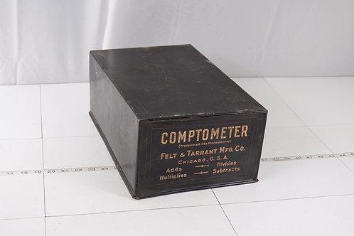 Comptometer Advertising Box
