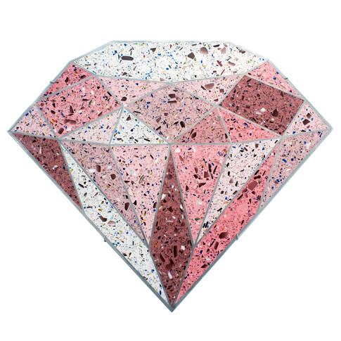 Terrazzo Diamond (Pink)