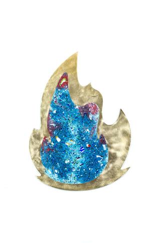 Fire (Blue) side A