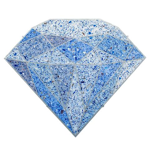 Terrazzo Diamond (Blue)