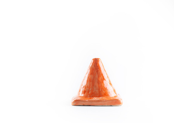 Orange Cone (Back View)