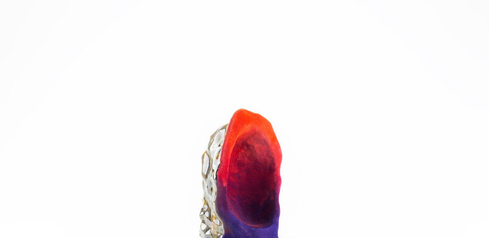 Crystal (Gradient Orange) Side View