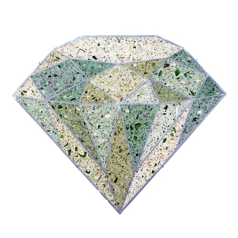 Terrazzo Diamond (Green)