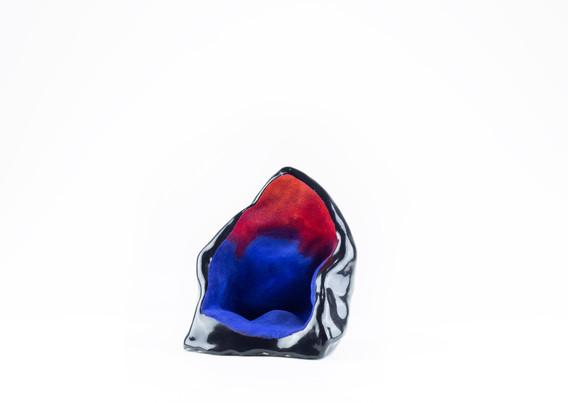 Black Crystal (Side View)