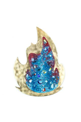 Fire (Blue) side B