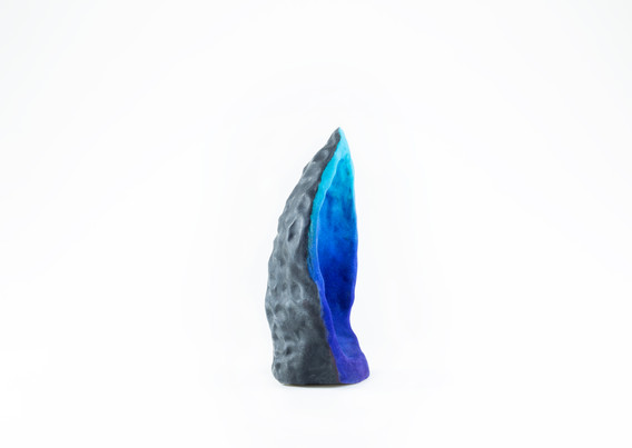 Crystal (Gradient Turquoise), Side View
