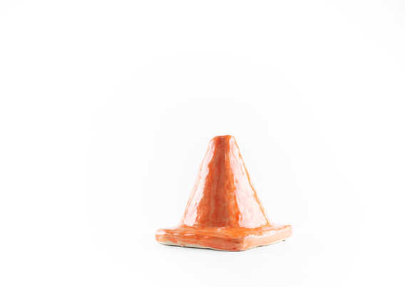 Orange Cone (Side View)