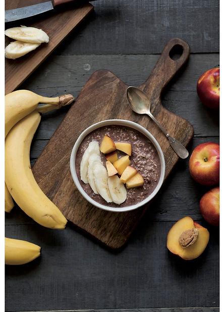 Brownie Overnight Oats, Porridge