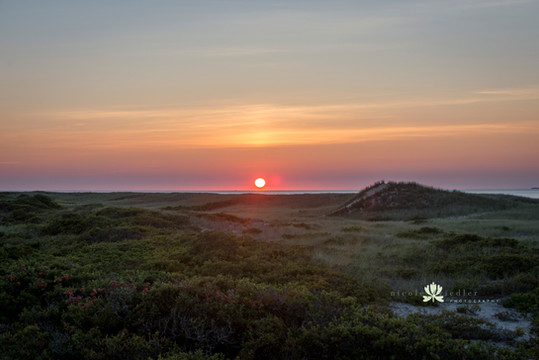 Dogfish Bar Sunset, Aquinnah