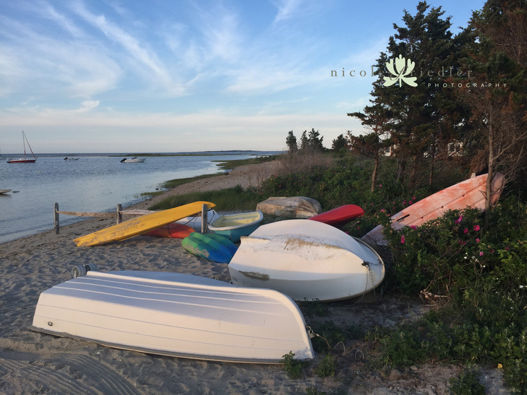 Eel Pond boats, Edgartown