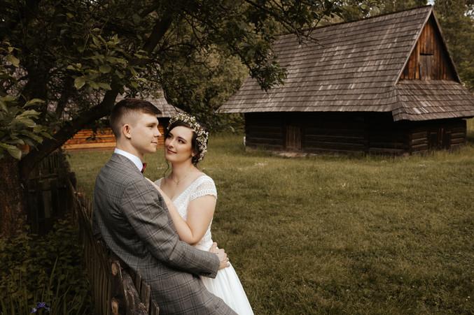 sesja ślubna w skansenie Chorzów