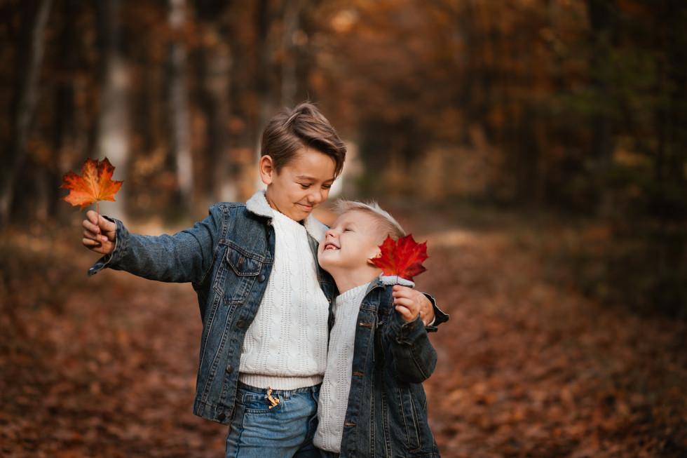autumn sesja dziecieca
