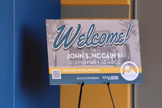 John S. McCain III Elementary Opening