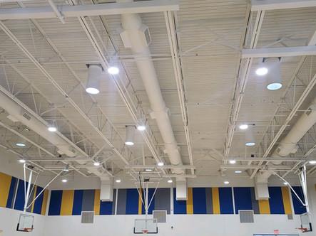 John McCain Elementary Gymnasium Ductwork