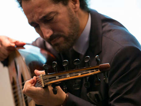 Musician Naseer Shamma celebrates the 70th anniversary of peace in UNESCO in Paris
