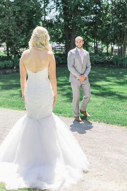 Ottawa Wedding Photography Couple First Look Stonfields