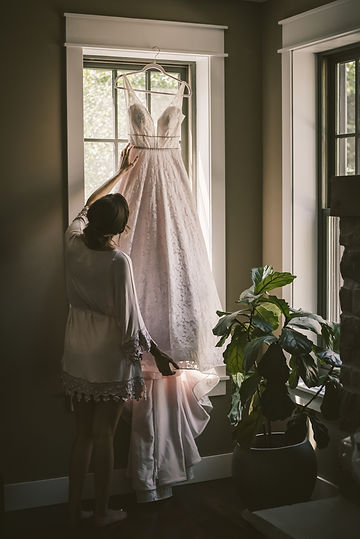 Ottaw Wedding Photography Bride and gown shot