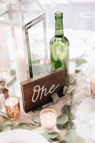 Ottawa Wedding Photography Reception Table Decor