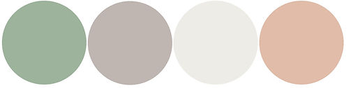 Natral Bright Wedding Colour Pallet
