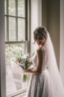Ottawa Wedding Photography Bride Shot with Flowers